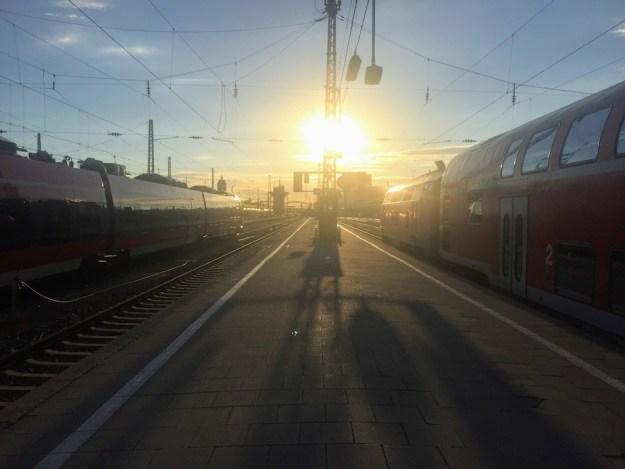 train spotting in Munich