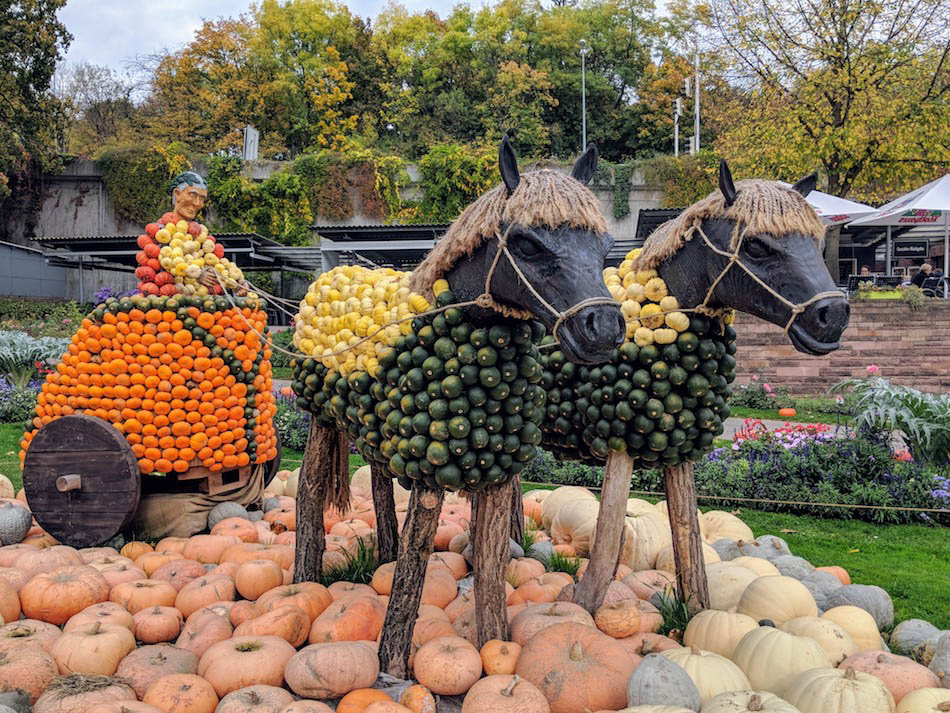 World's Largest Pumpkin Festival in Ludwigsburg Germany Autumn in Europe