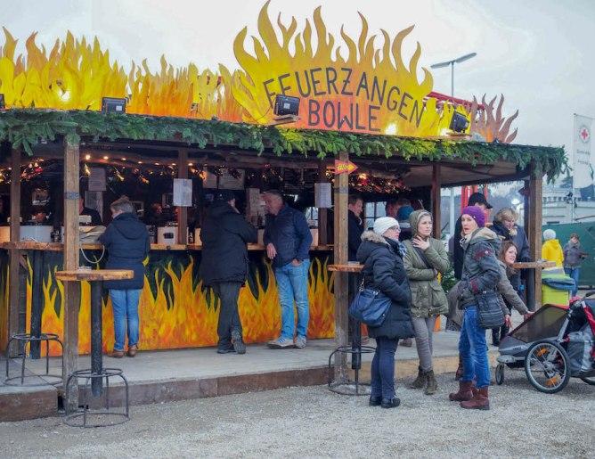 Feuerzangenbowle Market Munich