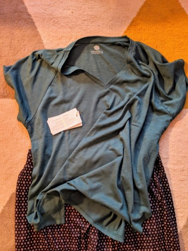 Sustainable T-Shirt and Pants to Pack