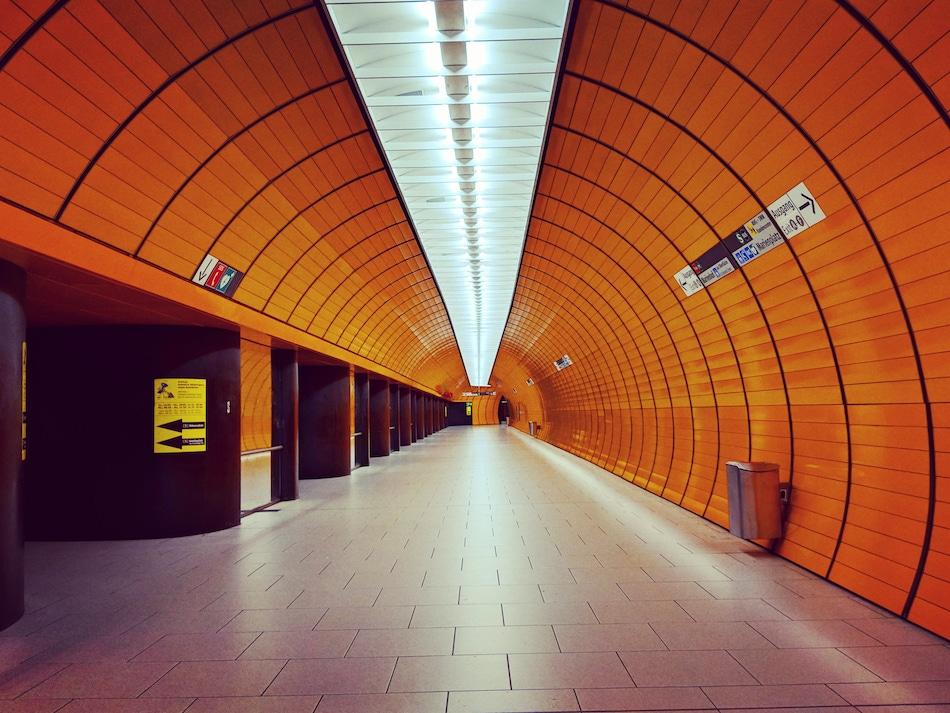 Ubahn station munich
