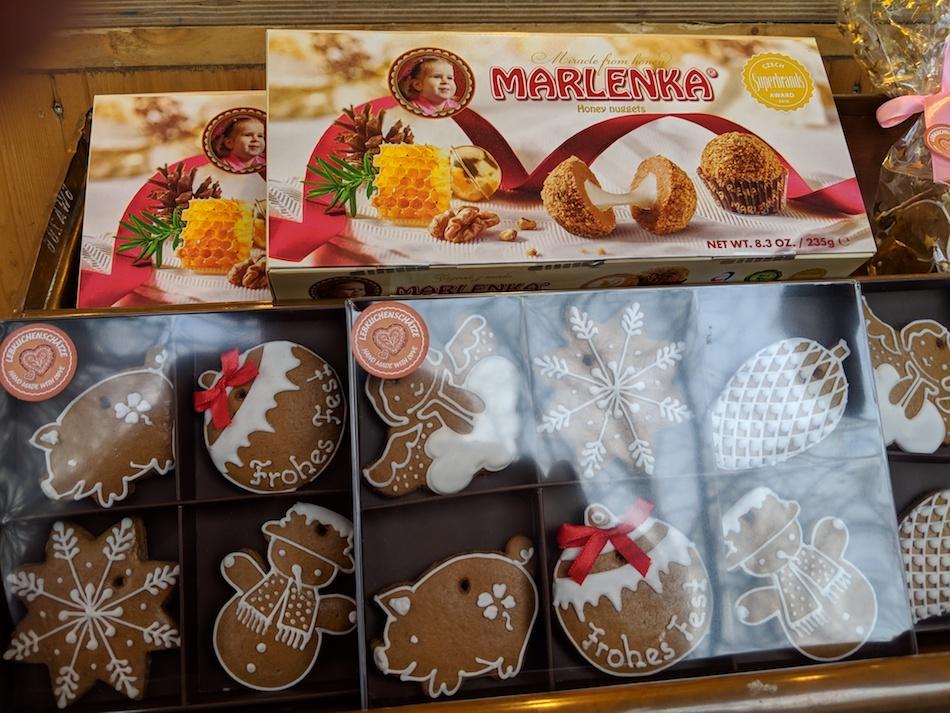 Lebkuchen German Christmas Market Vegetarian Food