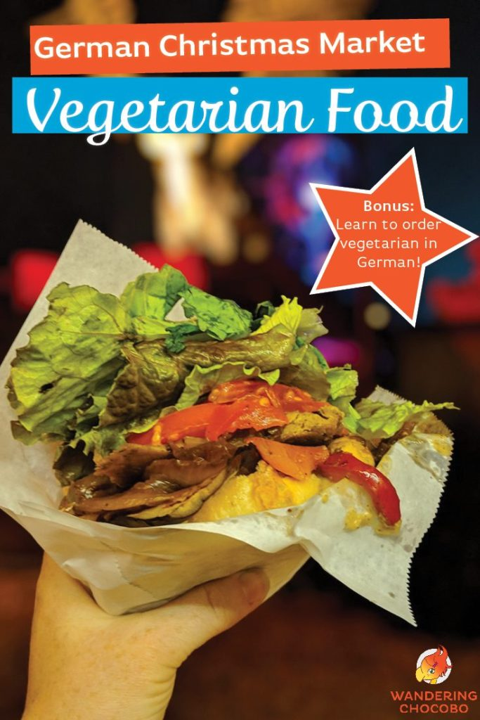 Vegetarian food to try at German Munich Christmas markets