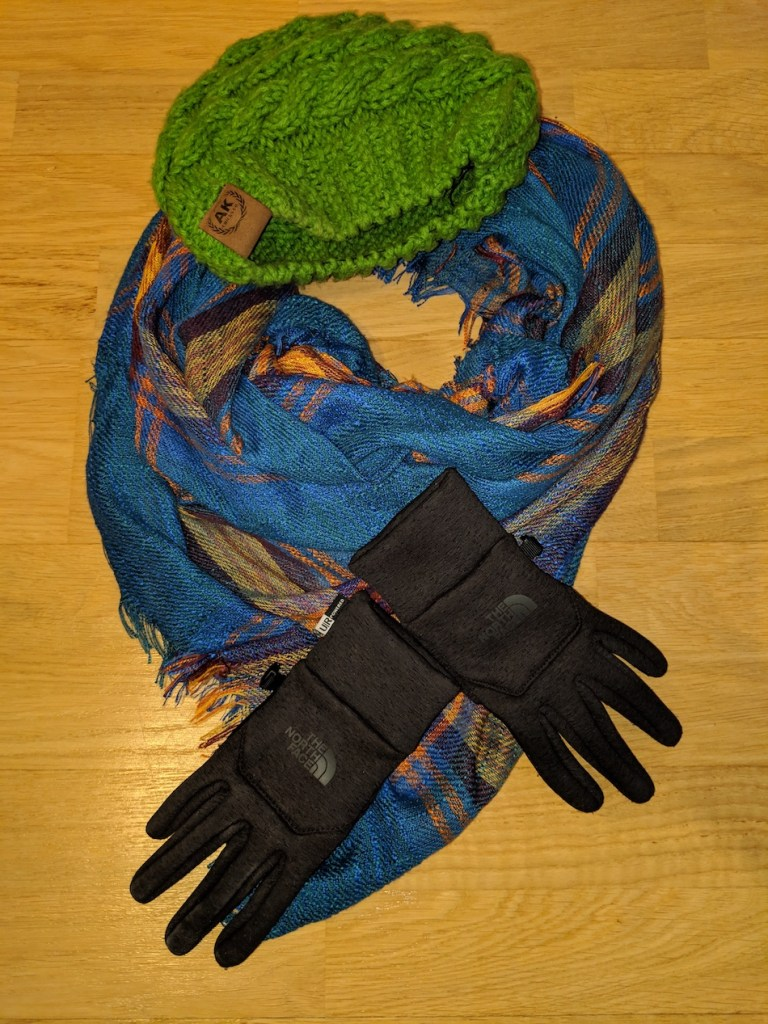 Hat gloves and scarves to pack for Germany in winter
