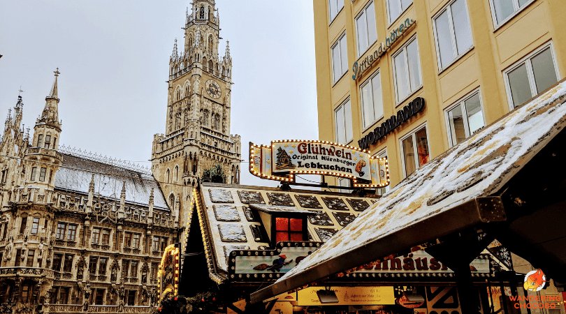 Munich Christmas Market.Winter Essentials To Pack For Munich Christmas Markets