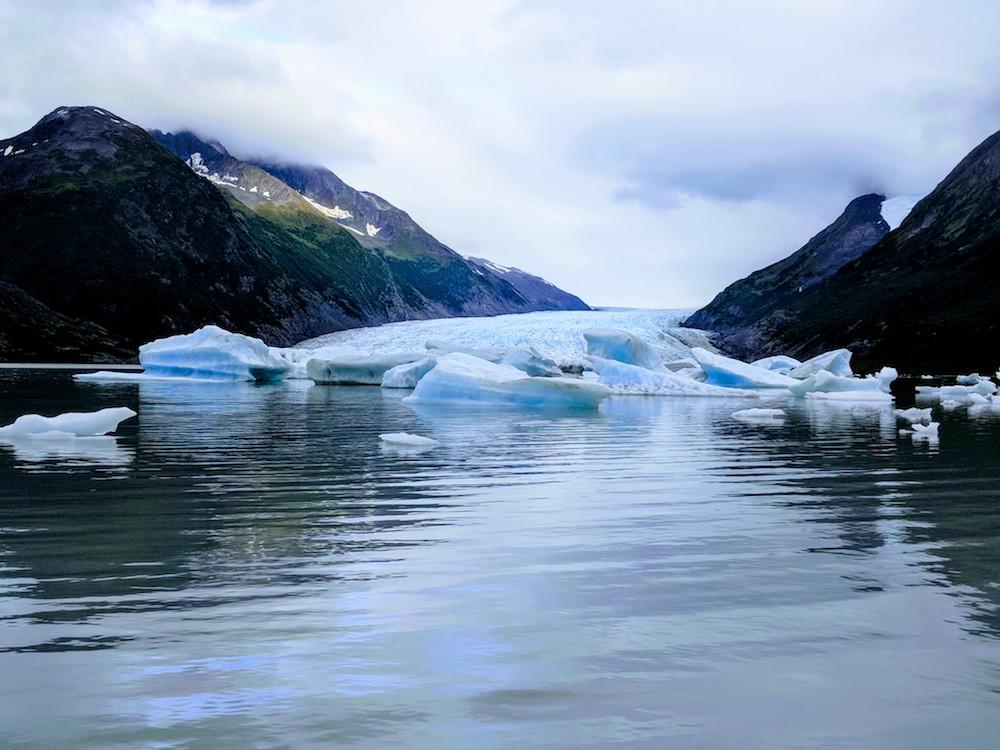 Spencer Glacier Discovery Train Alaska