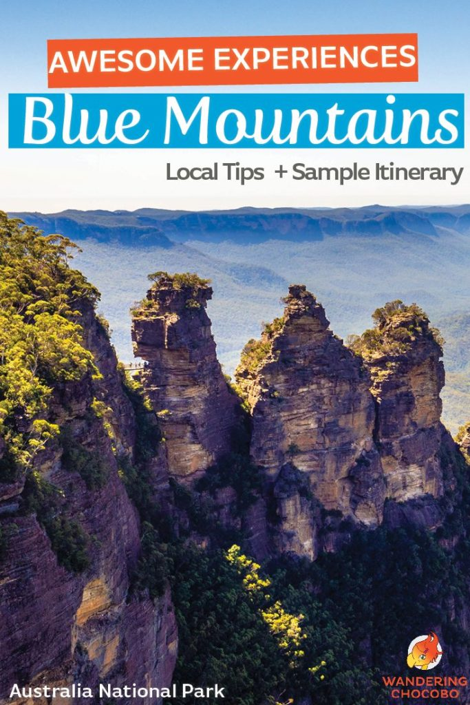 Awesome Experiences in the Blue Mountains National Park