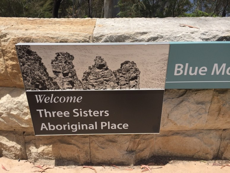 three sisters echo point Blue Mountains National Park Sydney Australia