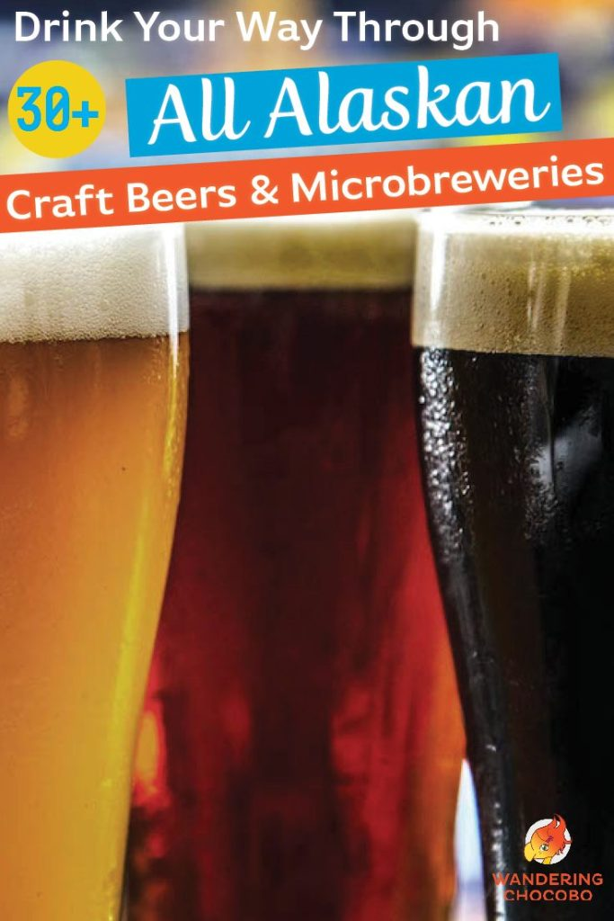 Drink your way through 30 microbreweries and craft beers in Alaska
