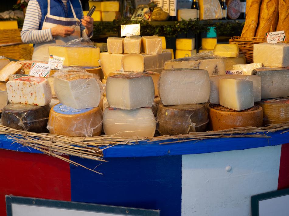 Cheese Market in Munich