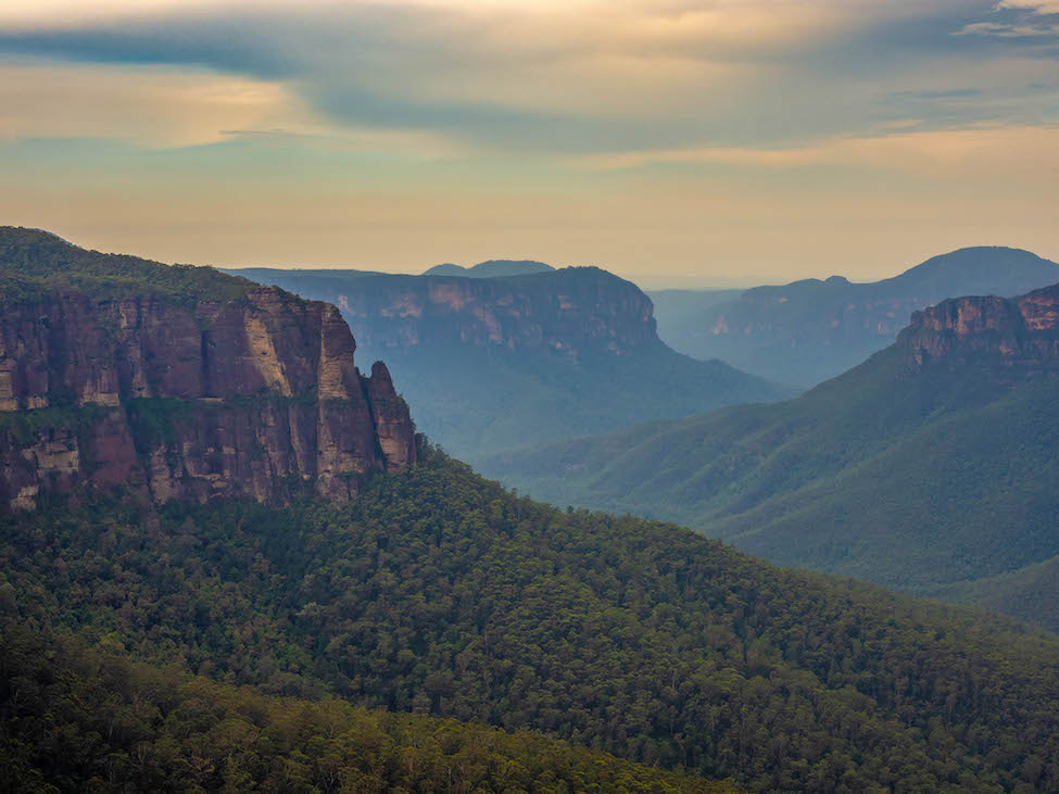 Govetts Leap Blue Mountains National Park Sydney Australia