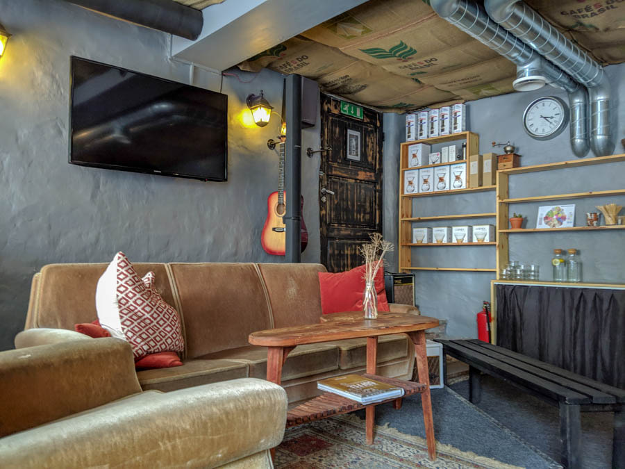The living room cafe tallinn estonia