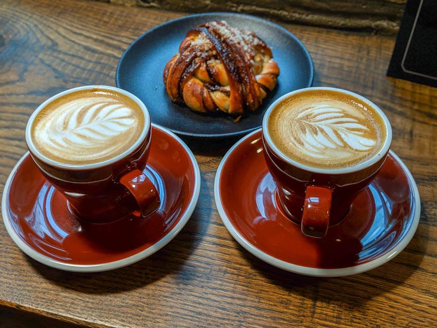 Rost Bakery best coffee in Tallinn Estonia