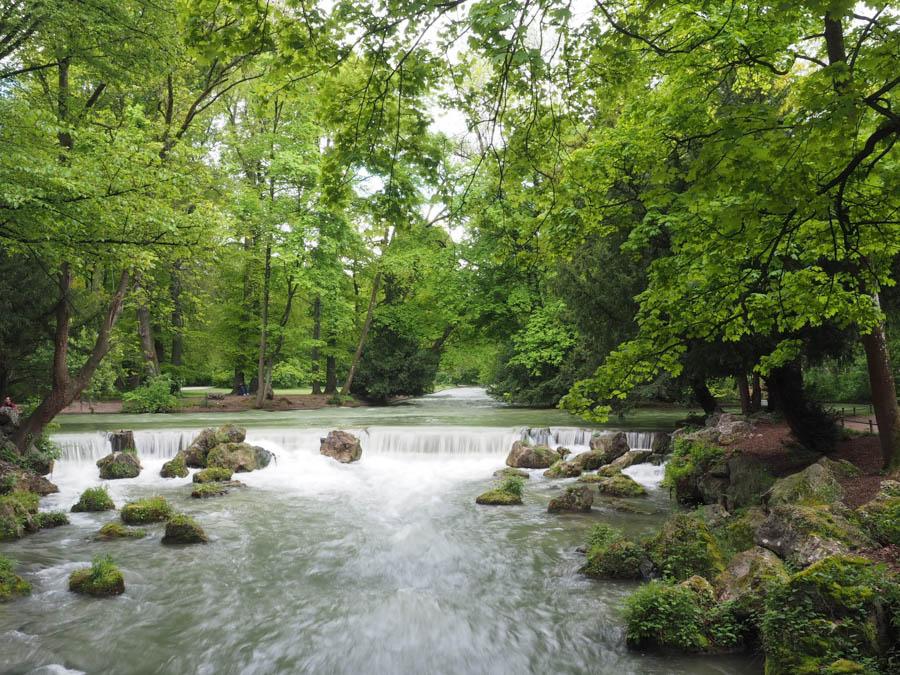Munich in Summer Englischer Garten