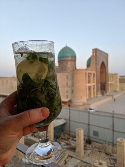 cocktails in Uzbekistan