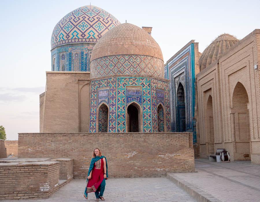 Shah-i-Zinda Mausoleums Samarkand