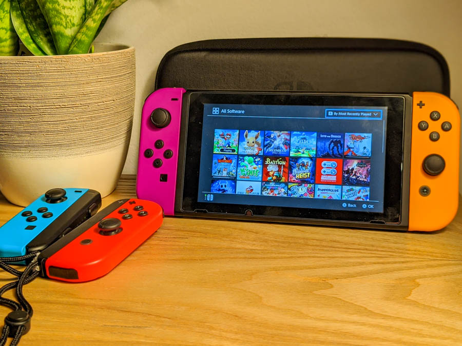 Tips for traveling and flying with Switch and Switch Lite