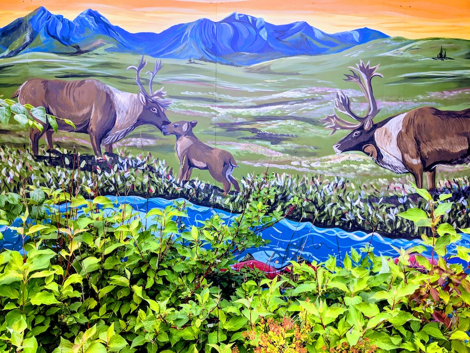 Native Street Art in Anchorage