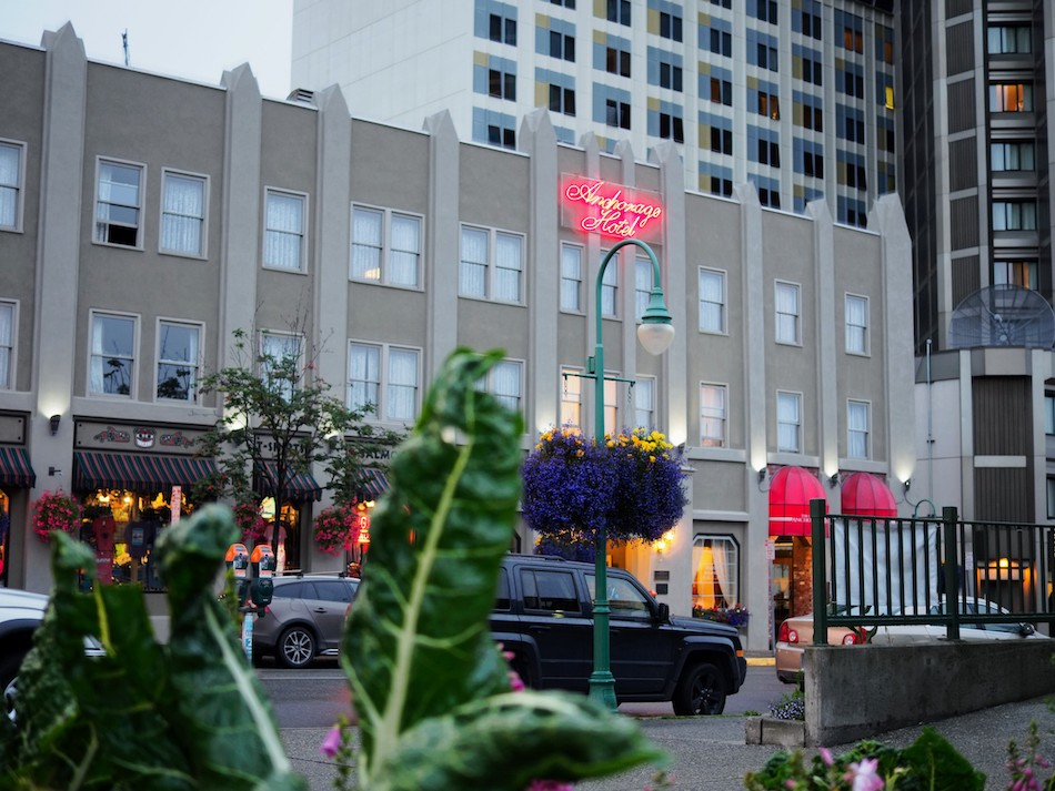 downtown hotel anchorage