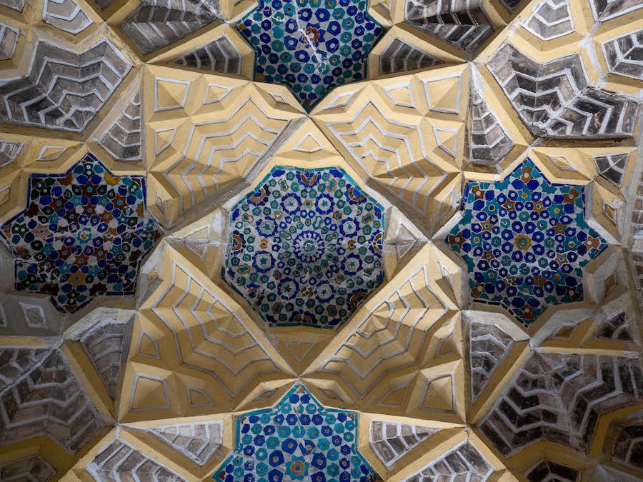 Bukhara Uzbekistan tiles