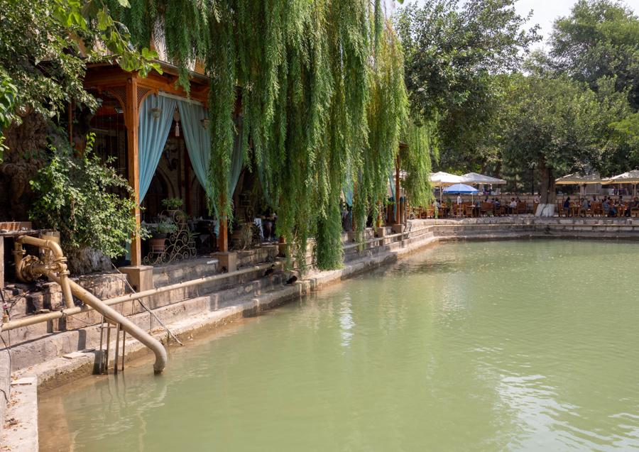 Lyabi Khause Lyab-i Hauz Bukhara pond