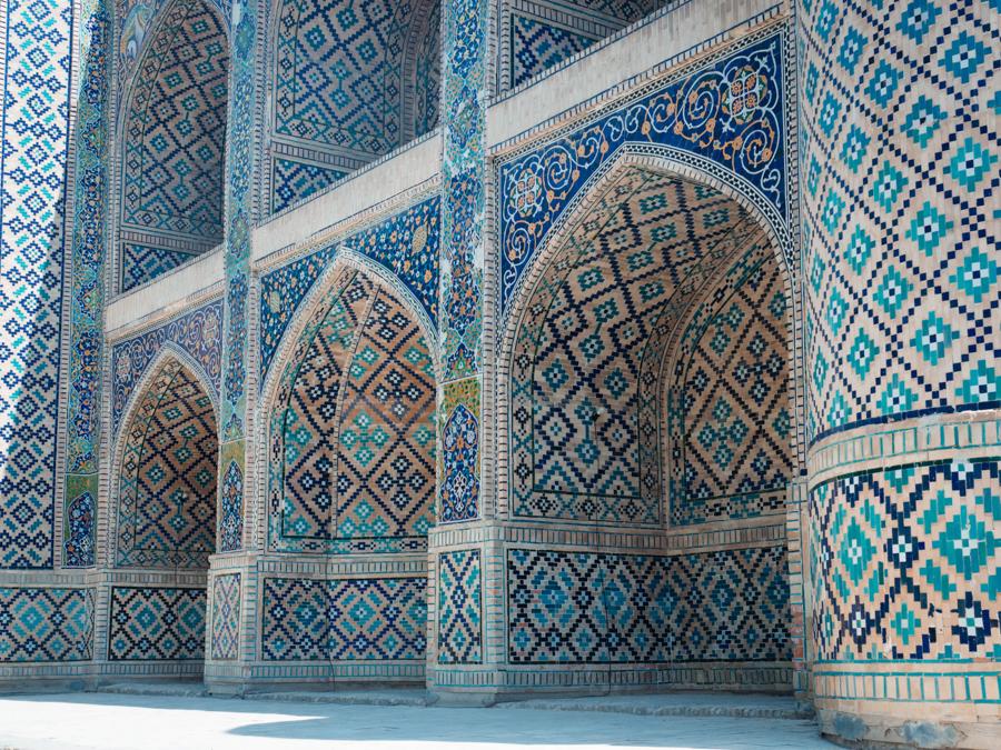bukhara uzbekistan Nadir Divan-Begi Madrasah