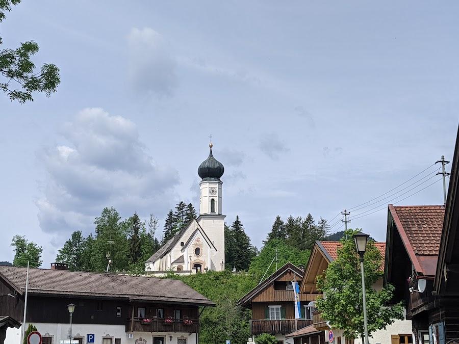 Jachenau Bavaria town Road Trip