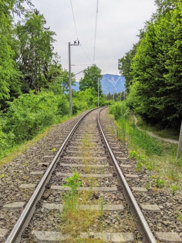 Murnauer Moos Marshland train stop