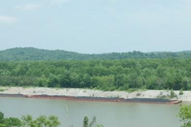 Coal Barge in West Virginia
