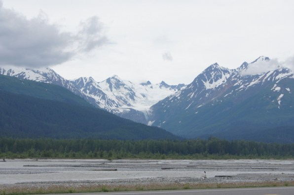 What a view along the Haines Highway