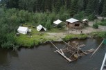 We spent some time at an Athabascan Indian Village