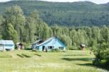 Home of author Mary Lovel in Sherman, Alaska