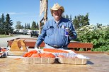 Our friend Ted with some of his sockeye salmon catch