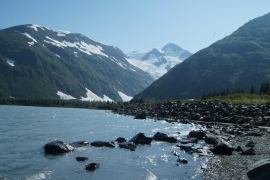 Portage Lake just a couple of miles from our campground