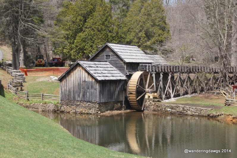 Mabry Mill on the Blue Ridge Parkway in Virginia
