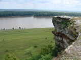 Lover's Leap on the Mississippi in Hannibal, Missouri