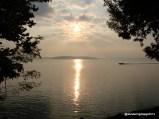 Sunrise over Lake Barkley, Kentucky from Canal COE