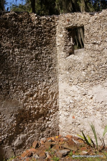 Tabby walls at Wormsloe