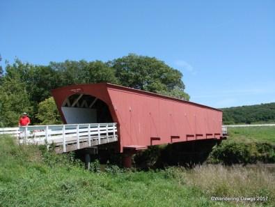 Hogback Covered Bridge, Madison County, Iowa