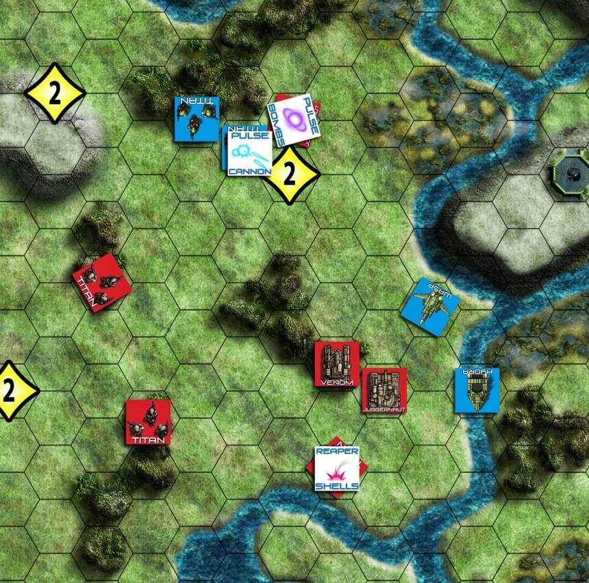 Atlas Wars Board and Unit detail