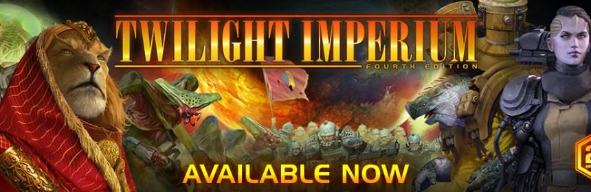 Twilight Imperium 4E and Limited Promo Bundle arrives on 11