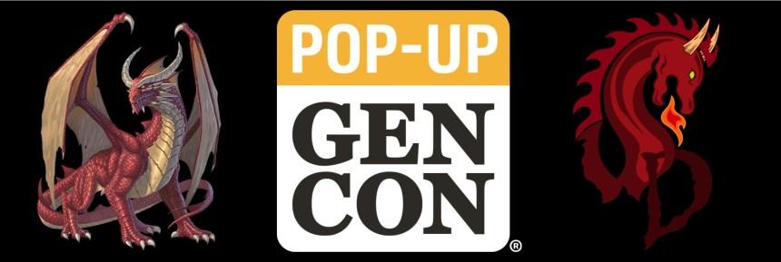 Pop Up Gen Con Wandering Dragon Game Shoppe