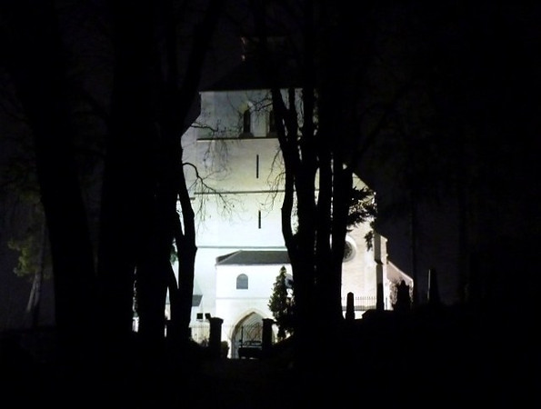 Halloween In Transylvania - Church on the Hill, Sighisoara
