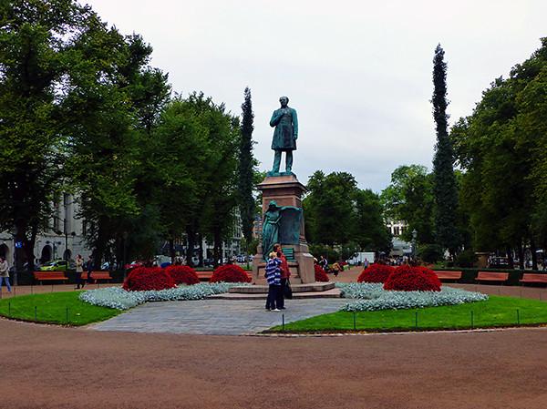 Esplanade Park, Helsinki