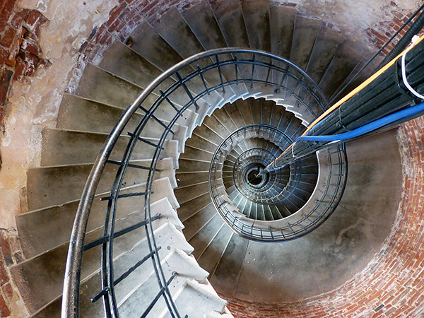 Climbing the Steps of a Lighthouse, Bengtskar