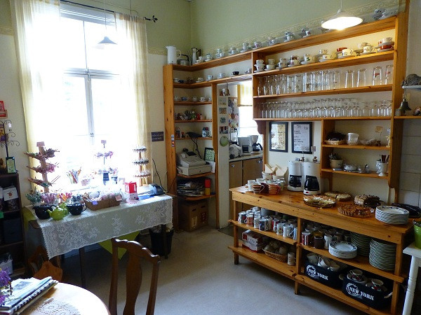 Kitchen at Alan's Cafe, Hanko