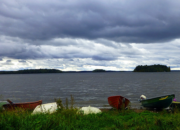 Lake in Tampere
