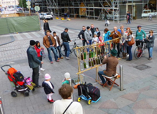 Street Performer, Helsinki, Finland