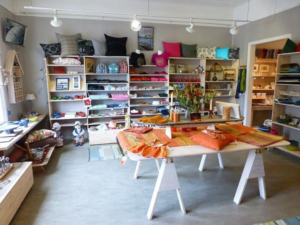 Shop at Alan's Cafe, Hanko