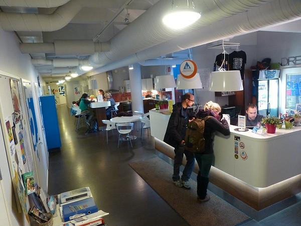Dream Hostel, Tampere (reception)